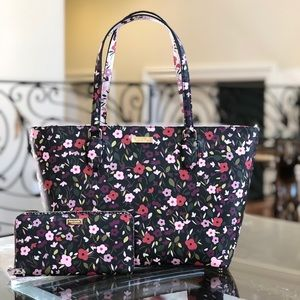 Kate spade medium dally floral handbag&neda wallet
